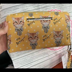 Betsey Johnson Cat Wallet